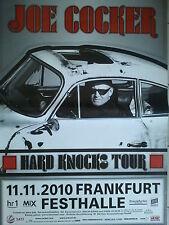 JOE COCKER     2010  FRANKFURT    orig. Concert - Poster   118 x 84 cm