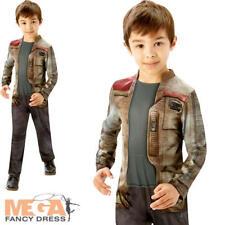 Finn Boys Fancy Dress Disney Star Wars The Force Awakens Kids Childrens Costume