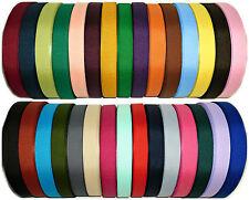 Alta qualità nastro di seta grossa 25mm, 5 Mtrs, assortiti COLS, artigianato ecc, ARTE 0072