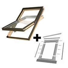 Dachfenster / Schwingfenster OPTILIGHT inkl. Eindeckrahmen / Viele Größen!