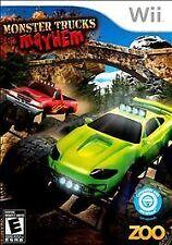 Monster Trucks Mayhem - Nintendo  Wii -- CIB