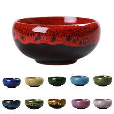 Ice Crack Glaze Flower Ceramics Succulent Plant Mini Pot Garden Flowerpot CHIC