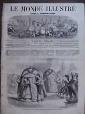 LE MONDE ILL 1863 N 305 LE BAL COSTUME DE L'IMPERATICE