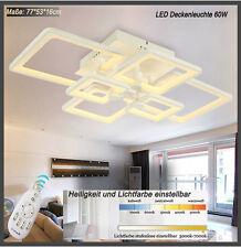 LED Deckenleuchte 6087 mit  Fernbedienung Lichtfarbe/Helligkeit einstellbar A+
