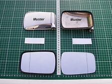 Außenspiegel Spiegelglas Ersatzglas VW Golf 1 GTI nur für Chromgehäuse asph