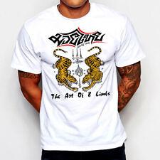 Muay Thai T-Shirt Kickboxing Jiu Jitsu MMA Judo UFC Military Martial Arts VIII