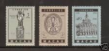 Macao Sc 365-367 MNH. 1952 St. Francis Xavier, cplt set, VF