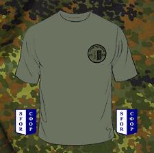 SFOR-VETERAN T-SHIRT Bundeswehr/Army/Soldat/Bw/Reservist/Armee/Bosnia/Croatia