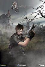 RGC Huge Poster - Resident Evil 4 Leon Kennedy Nintendo GameCube Wii - REE051