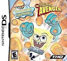 NEW SpongeBob SquarePants The Yellow Avenger Nintendo DS NDS DSI LITE Sponge Bob