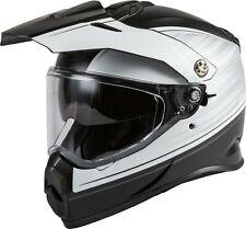 GMAX AT-21 Adventure Raley Dual Sport Helmet Black/White