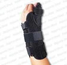 Medical Grade Thumb Wrist Brace Immobilise Splint Support Sprains Arthritis Pain