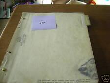 John Deere 4200 Series Cultivator's dealer's parts book