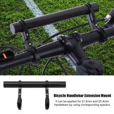 Cycling Bike Bicycle HandleBar Lamp-Bracket Holder Extension Extender Mount New