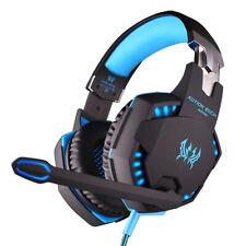 G2100 Gaming Headset LED Comfortable 3.5mm/USB Stereo Over-ear Headphone