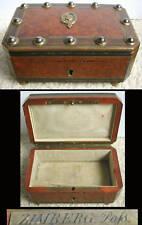 Boite à bijoux d'époque NAPOLEON III signé Zimberg à Paris wooden box