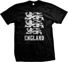 England Coat Of Arms English British Pride World Cup Mens T-shirt