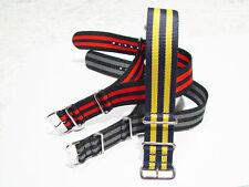 Cinturini di orologio militare Nylon Elastici in 6 con
