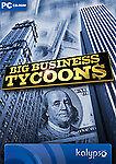 Big Business Tycoons economía simulación 3in 1 (PC) New mercancía nueva