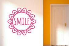 Smile Within Sunflower Wall Stickers Vinyl Art Decals