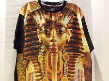 KING TUT TUTANKHAMUN/EGYPTIAN DESIGNER T-SHIRT DESIGNER MICHAEL CHERRY-RARE