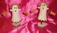 Cute Halloween Ghosts Figurines