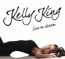 FREE US SHIP. on ANY 2+ CDs! ~LikeNew CD Kelly King: Live the Dream