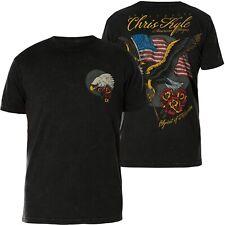 AFFLICTION T-Shirt CK Heartland Schwarz T-Shirts