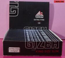 10 / 5 / 1 St. GIZEH King Size Slim EXTRA THIN - TOP QUALITÄT !! TOP PREIS !