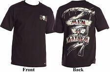 Metal Mulisha Sons Of Anarchy Men Of Mayhem Grim Reaper Scythe T-Shirt S-2XL
