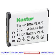 Kastar Repalcement Battery for VW-VBX070 VBX070 & Panasonic HX-WA10GK Camera
