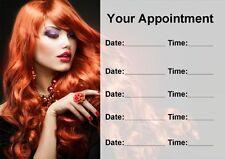 Coiffeur cheveux ou ONGLERIE cartes de rendez-vous personnalisé