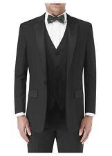 SKOPES Wool Blend Latimer Dinner Suit Jacket in Black in Size 34 To 62, S/R/L