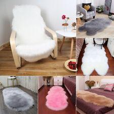 Soft Fluffy Rugs Anti-Skid Shaggy Dining Room Carpet Floor Mat Living-Room Decor