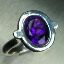 2.55ct Natural Amethyst 925 silver 9ct 14k 18k Gold Platinum engagement ring