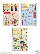 Docrafts Papermania Es hat a Des menschen Welt Serviettentechnik Papier Packung