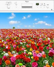 Adesivo lavastoviglie decocrazione cucina campo di fiori 60x60cm Ref 150