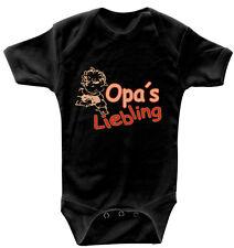 bébé grenouillère au choix Oma ´s Liebling ou grand-père´s bodys 0-24 mois 083xx