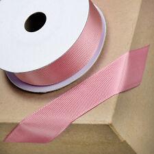 Dusky Pink Grosgrain Ribbon 10mm 16mm  x 10m - Craft - Sewing