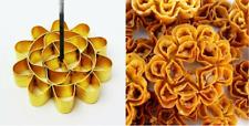 2 Size Dok Jok Frying Brass Mold Bake Lotus Flower Thai Cookies Snack Dessert