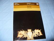 TEATRO ALLA SCALA BICENTENARIO 1978 MADAMA BUTTERFLY PUCCINI GIACOSA PROGRAMMA