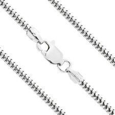 1.2mm Men/Women Stylish  Italian 925 Silver Snake Link Italian Chain Necklace