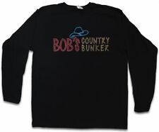 Bob's Country Bunker Herren Langarm T-Shirt Blues Bar Club Brothers Logo The
