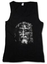 Shroud of Turin Femmes Tank Top Chiffon Holy Jésus-Christ Chrétiens shirt Maria entrepria