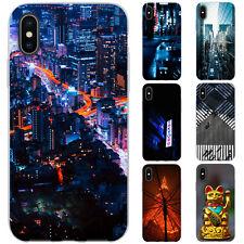 dessana Tokio Japan TPU Silikon Schutz Hülle Case Handy Tasche Cover für Apple