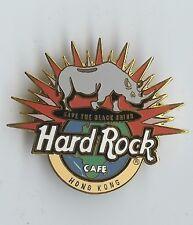 Hard Rock Pin Hong Kong Save the Black Rhino