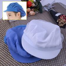 Breathable Mesh Elastic Chef Cooking Waiter Uniform Work Hat Kitchen Baking Cap