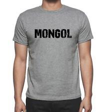 MONGOL Tshirt Col Rond Homme T-shirt, Tshirt hommes gris, Cadeau ideal