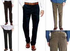Mens Corduroy Trousers Cotton Classic Fit Jumbo Chunky Cords Regular Tall Short