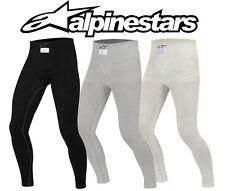Alpinestars Zx Nomex Inferior, APROBADO por la Fia , Antracita/Blanco,